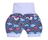 'Lilakind' Kurze Mädchen Pumphose Shorts Buxe Sommerhose Einhorn - Made in Germany Gr. 50/56