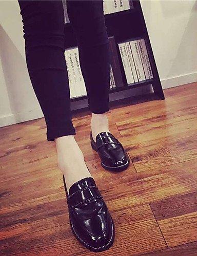 ShangYi Scarpe Donna - Mocassini - Tempo libero / Casual - Modelli - Piatto - Vernice - Nero Black