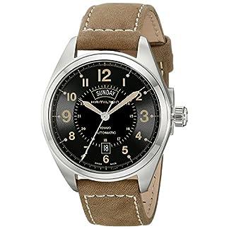 Hamilton Reloj Analogico para Hombre de Automático con Correa en Cuero H70505833