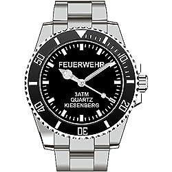 Feuerwehr Kiesenberg ® Marken Uhr Top Geschenk - Schöne Geschenkidee 2413