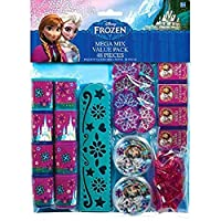 "Disney Frozen Birthday Favour Toys and Prize Giveaway (48 Piece), Multi Color, 11 1/2"" x 9"""