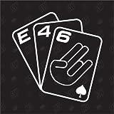 Spielkarten BMW E46 - Sticker