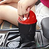 #7: AShshop Portable Small Dustbin |for car | Bathroom | Kitchen | Pooja ghar | Premium qulity