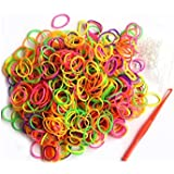 SMARTBUYER Rubber Bands - 1/2 Inch Diameter,Multi Color Elastics Stretchy Band Hair Tie Ponytail Hair Rubber Band Holder for Kids/Girls/Women (50 GSM)