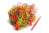 #9: SMARTBUYER Rubber Bands - 1/2 Inch Diameter,Multi Color Elastics Stretchy Band Hair Tie Ponytail Hair Rubber Band Holder for Kids/Girls/Women (50 GSM)
