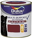 Peinture multi-supports satin Dulux Valentine - 0,5 l - Rouge basque
