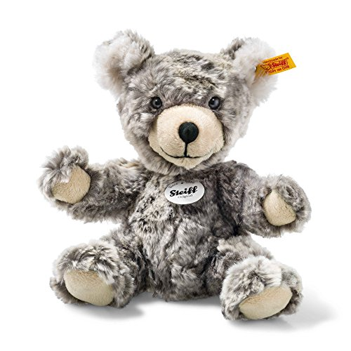 Steiff-109928-Lommy-Teddy-Bear-Soft-Toy-GreyBeige