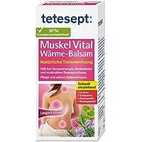 Preisvergleich für tetesept Muskel Vital Wärme-Balsam – Wärmender Pflegebalsam zur äußeren Anwendung mit ätherischen Ölen - hilft...