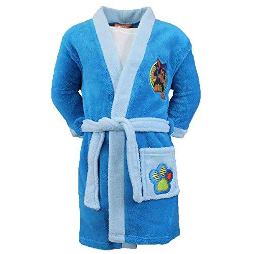 Robe de Chambre Peignoir pour enfant Pat Patrouille Paw Patrol - Turquoise (8 ans)