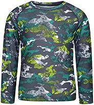 Mountain Warehouse El talud Embroma Alrededor de la Tapa de Baselayer del Cuello - Camiseta Larga de la Manga,