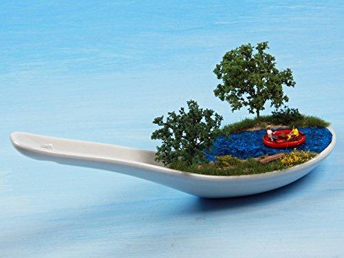 Porzellanlöffel : Mit dem Schlauchboot flußabwärts 1:160