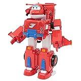 Giochi Preziosi Super Wings Jett Super Robot, Veicolo Trasformabile in Robot, Personaggio Jett Incluso