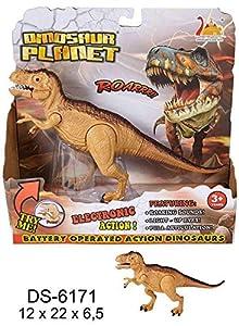 Jurassic World- Jurassic Spinosaurus pequeño con Sonido Dinosaurios y Criaturas prehistóricas (RM 1)