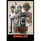 Gorillaz (All Here) Maxi póster 61x 91.5cm)