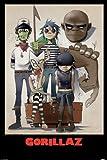 Grupo Erik Editores Gorillaz-All Here Poster