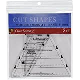Dritz Quilt Sense Wonder triángulos, regla, 8tamaños,