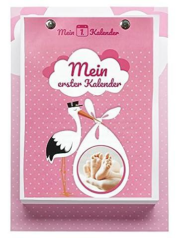 Der einzigartigste Wickeltisch Kalender - mit täglichen Tipps und Tricks passend zur Entwicklung - Mit Wachstumsschüben - Ein tägliches Ritual - Das perfekte Geschenk zur Geburt Ihres Mädchens