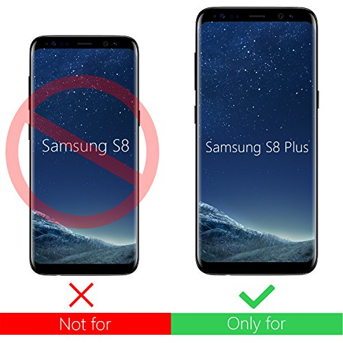 custodia samsung s8 plus nero