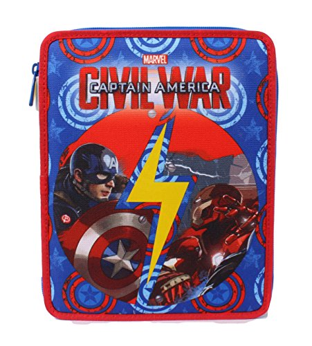 Seven Captain America Civil War 3B8011604-591 Astuccio, Large, Poliestere, Multicolore
