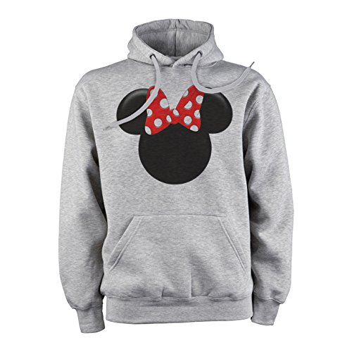 Mickey Mouse Disney Dope Icon Swag Colour Gradient 3D Minnie Siluet XL Herren Hoodie (Mickey Mouse Hoodie)