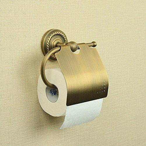 WW Toilettenpapierständer europäischen antiken Papier Handtuchhalter Bad Retro pastoralen Stil Toilettenpapier Toilettenpapier Toilettenpapierrolle