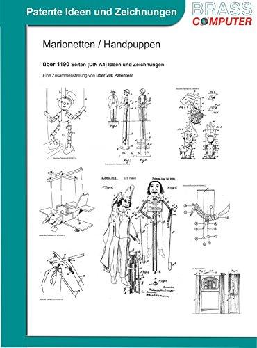 Marionetten / Handpuppen, ca. 1190 Seiten (DIN A4) Ideen und Zeichnungen (Handpuppen Und Marionetten)