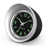 Auto Uhr, ONEVER Auto Quarzuhr Mini Fahrzeug Armaturenbrett Uhr, 1,7