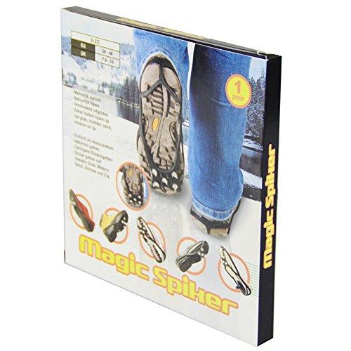 Schuh Spikes Gr.39-48 1Paar schwarz Eiskralle Gleitschutz Schuhkrallen