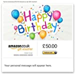 Happy Birthday (Coloured Balloons) -...