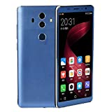SO-buts K2S Smartphone,5.0''Zoll Android 5.1,Dual-Karte-Handy,Maximaler Erweiterter Speicher 32GB,Dual HD-Camera WiFi Bluetooth Mobiltelefon, Regale (Blau)