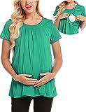 Best Regalos amigo camisetas - zhenwei Camiseta de Mujer para Maternidad Tshirt para Review