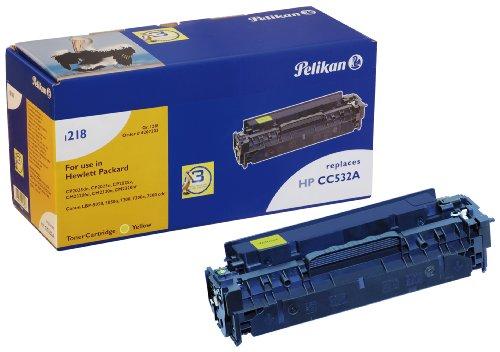 Pelikan Toner-Modul 1218y ersetzt HP CC532A, Gelb, 3050 Seiten -