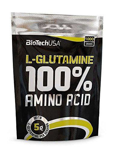 Biotech USA 100% L y Glutamine Aminoácido - 1000 gr