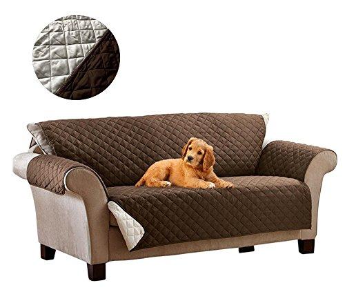 015571 Funda sofá 2 plazas reversible apoyabrazos