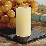 ShareMoon LED Kerzen mit beweglicher Flamme - Echt Flammen Effekt LED Echtwachskerzen mit 17-Tasten-Fernbedienung und Timer (gelb)