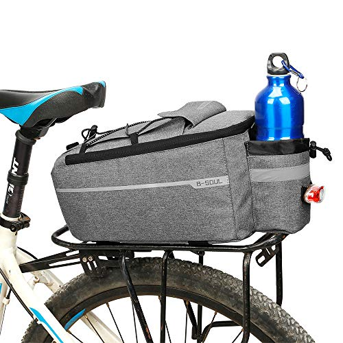 Lixada Isolierte Stamm Kühltasche Radfahren Fahrrad Gepäckträger Gepäcktasche Reflektierende MTB Bike Pannier Bag Umhängetasche