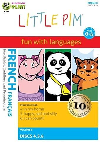 Little Pim coffret 3 DVD français volume 2