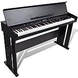 vidaXL Elektro Klavier 88-Tasten Digital E-Piano Keyboard mit Notenablage