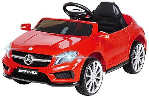 Actionbikes Motors Elektroauto Mercedes Benz Amg GLA45 - Lizenziert - Rc Fernbedienung - Softstart - Elektro Auto für Kinder ab 3 Jahre - Kinderauto Spielzeug (GLA45 Rot) - Batterie-autos Mädchen Für