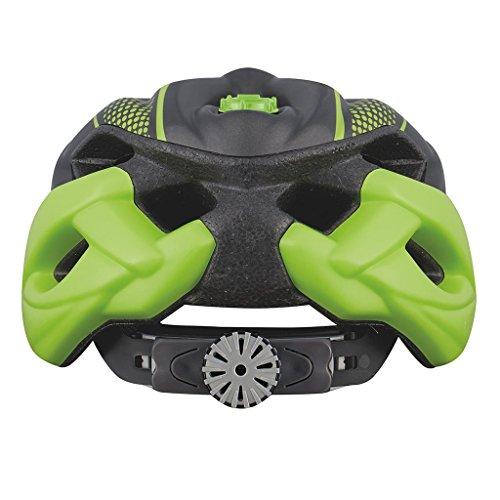 KED STATUS JUNIOR 2015 Kinder-und Jugendlichen Fahrradhelm alle Farben und Größen, Größe:52-58 cm;Farbe:green black matt