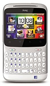 HTC Chacha Smartphone GSM/GPRS/EDGE Bluetooth Argent