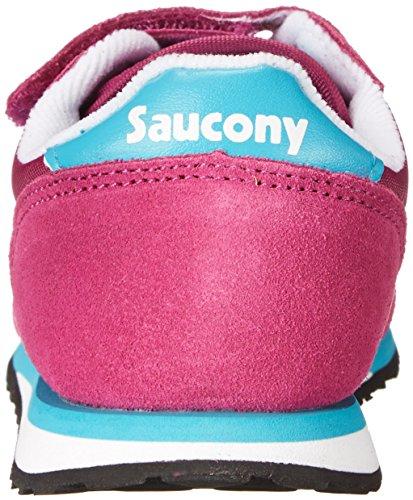 Saucony Originals Unisex Baby Jazz Hl Lauflernschuhe Magenta/Blu