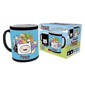 GB Eye Adventure Time Zeichen wärmeempfindlicher Kaffeebecher, Keramik, Verschiedene, 15x 10x 15cm