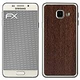 atFolix Samsung Galaxy A3 (2016) Skin FX-Wood-Teak Designfolie Sticker - Holz-Struktur/Holz-Folie