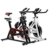 JLL� IC300 Indoor Exercise Bike 2018, Cardio Workout, 18KG Flywheel Smooth Cycling, Adjustable Handlebars & Seat, Heart Rate Sensors & On Board Computer reads Speed, Distance, Time, Calories + Pulse