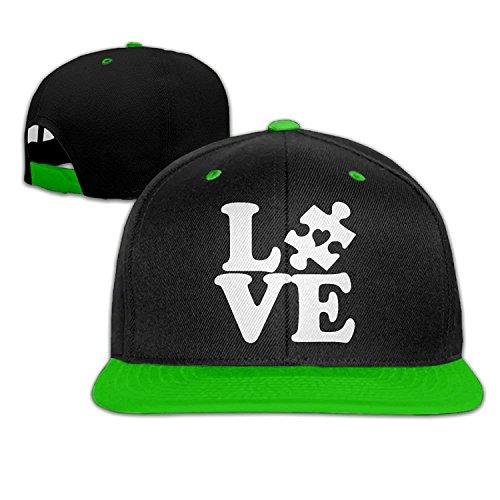 Love Puzzle Piece Men Women Hip Hop Baseball Caps