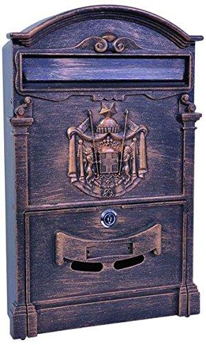 Blinky 27290-45 Residencia Cassetta per Lettere, 26x9x41, Bronzo