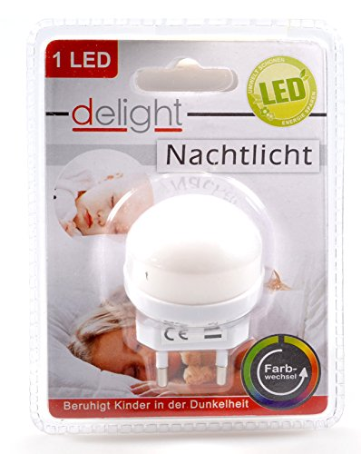 "Nachtlicht mit LED Farbwechsel ""Smooth"" 1 LED 400306"