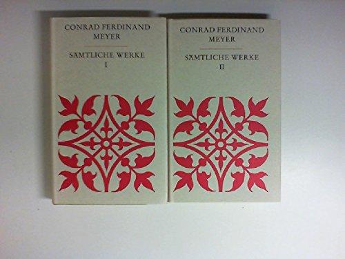 Sämtliche Werke in 2 Bänden. Bd. 1+ 2. Vollständige Texte nach den Ausgaben letzter Hand. Mit einem Nachwort von Erwin Laaths.