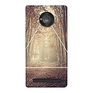 Neo World Into The Forest Back Case Cover for Yu Yunique